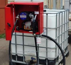 Мини АЗС 60лмин для перекачки дизельного топлива