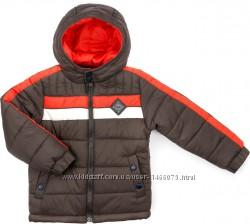 Зимняя, лёгкая, тёплая куртка на флисе для мальчика 4 и 6лет.