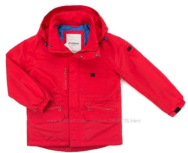 Стильная демисезонная куртка - парка с капюшоном  от Snowimage.