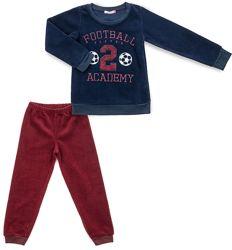Тёплая флисовая пижама для мальчика.
