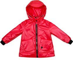 Стильная демисезонная куртка с капюшоном для девочки на 6 - 10лет.