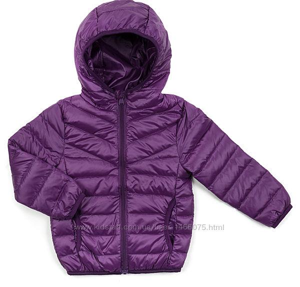 Ультратонкая пуховая куртка для девочки / мальчика. Два цвета.