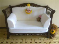 итальянская кроватка кровать люлька оригинал Италия, постельное и защита