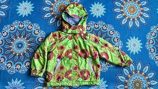 Демисезонная куртка для девочки или мальчика 3-4 года Icepeak