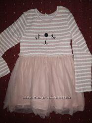 Нарядное платье для принцессы 4-6 лет.