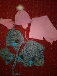 Наборы шапка, шарф, перчатки Wojcik, Tavitta.