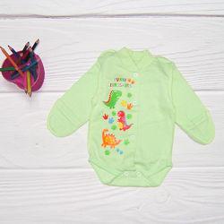 Боді для новонародженого із рукавичками