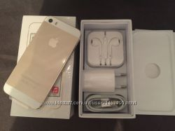 IPhone 5S 32GB Gold. Новый. NeverLock. В наличии
