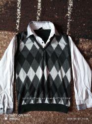 Свитер-рубашка