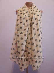 Легкий воздушный палантин, шарф, парео бренд New Look.