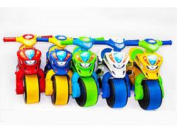 Мотоцикл беговел, байк Долони, музыкальный, полиция - 6 цветов