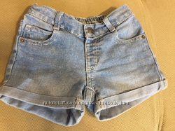 Джинсовые шорты crazy8 на 4-5 лет