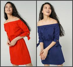 Р. 42-54. Платье синее и красное летнее. Платьице - сарафан легкое. 10-141