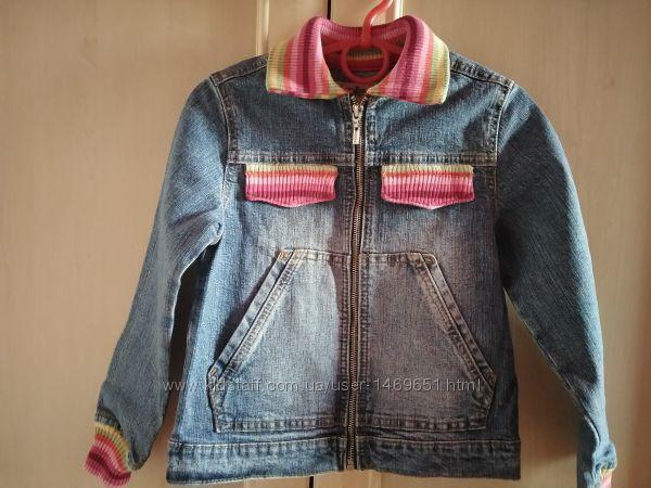 Джинсовая курточка Глория джинс, рост 116