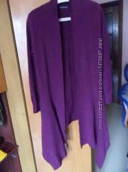 Стильный кордиган джемпер кофта свитер женский 48-50р вязка кашемир