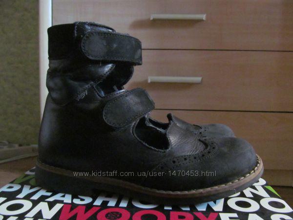 Ортопедические туфли с высоким берцем   Woopy