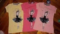 Нарядная футболка для девочек/большой выбор/ турция