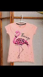 Нарядная футболка для девочки/пайетки/ выбор/качество супер