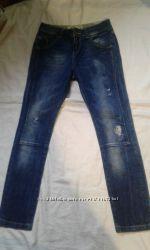 Рваные джинсы для мальчика  13 14 лет