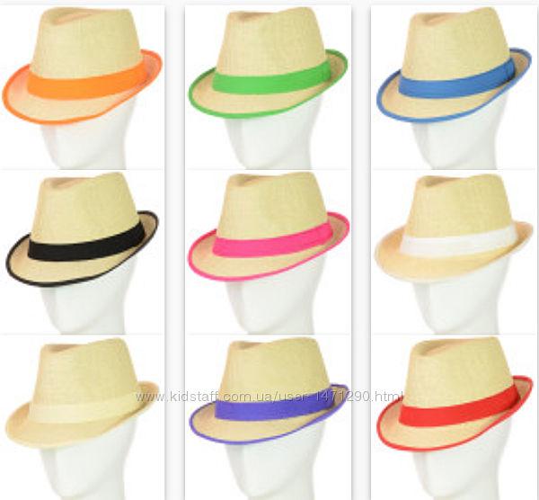 Шляпы Федора Челентанки летние женские