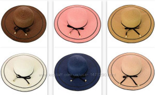 Шляпа женская с широкими полями