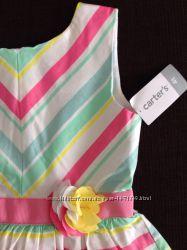Нарядное платье для девочки Carters 4Т на рост 98-105 см