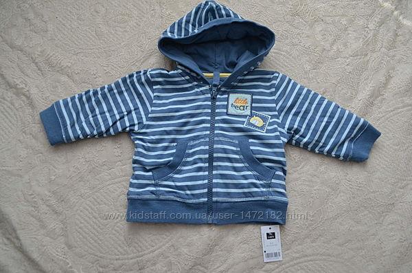 Новая детская легкая курточка на малыша 3-6 мес