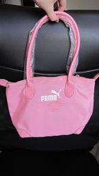 Сумка Puma Пума розовая тканевая спортивная повседневная