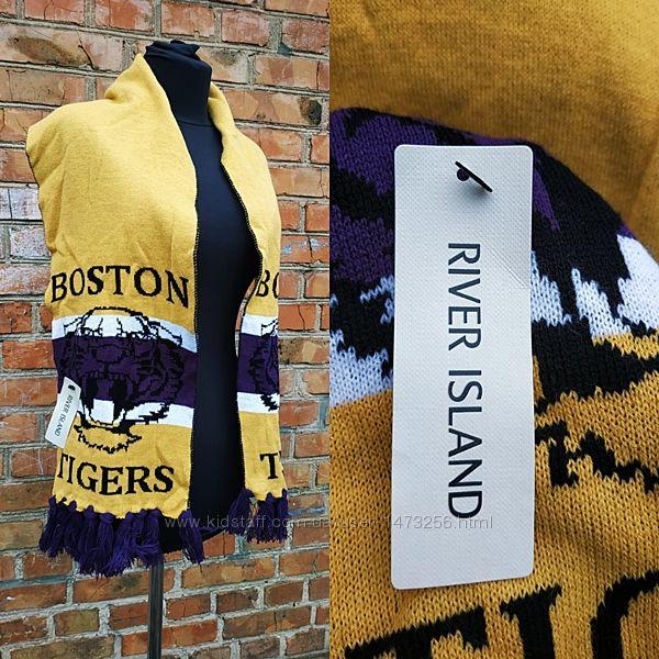 Новый спортивный с биркой шарф River Island Boston Tigers 3-12 лет