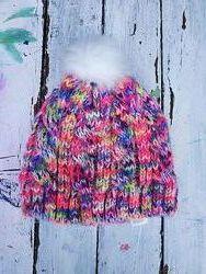Яркая теплая шапка M&S 18-36 месяцев