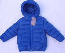 Курточки стеганные для мальчиков и девочек