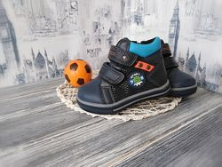 Демисезонные ботинки полусапожки для мальчика качество