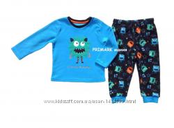 Флисовые пижамы для мальчиков 1-7лет PRIMARK
