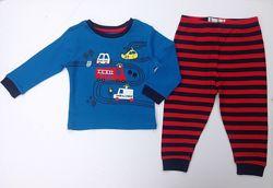 Трикотажные пижамы для мальчиков 1-3года PRIMARK