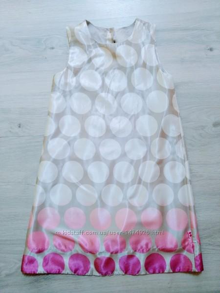 Платье в горошек Mothercare 7-8to128cm.