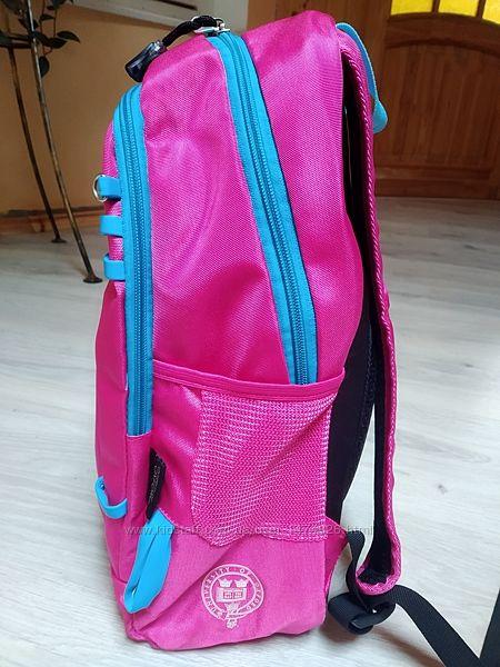 Рюкзак школьный Оксфорд розовый