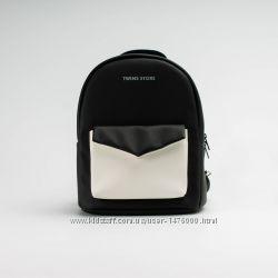 0244f1ea683c Рюкзак городской женский кожаный белый, черный, оранж, желтый, 749 ...