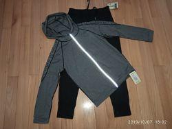 Спортивний костюм комплект для тренувань та фізкультури. Розмір S-L