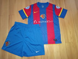 Футбольна форма Nike FCB  Оригінал Ріст 140-150 см Футболка шорти