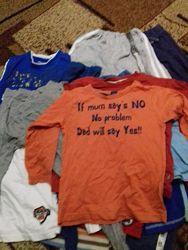 Пакеты одежды  на 2-3, 3-4, 5-7, 6-8 лет на мальчика много разного