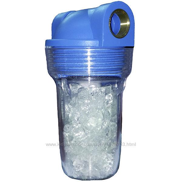 Фильтр против никипи AquaKut MIGNON 2P 5 с полифосфатом