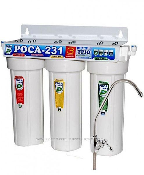 Система очистки воды РОСА 231 для жесткой воды