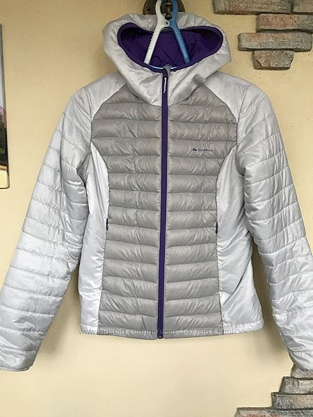 Куртка пуховик ультратонкий Quechua, р. M