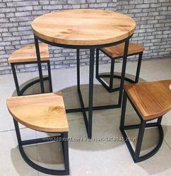Стол со стульями в асортименте