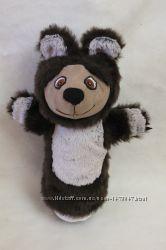 Кукольный театр игрушка на руку перчатка медведь мишка