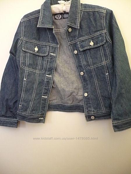 Джинсовый пиджак на мальчика 10-11 лет