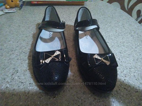 Красивые туфли 21.5см 33р