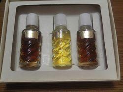 Винтажный парфюмерный набор  духи из коллекции dzintars