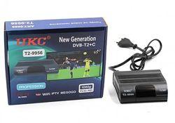 Тюнер цифровой ресивер UKC DVB-T2 995 приставка т2 с wi-fi