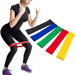 Набор фитнес резинок ленточный эспандер LOOP BANDS в комплекте 5 резинок